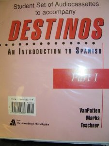 Destinos Stdt Set 13 Cs Pti: Introduction to Spanish: Set of 13 Audio Cassettes