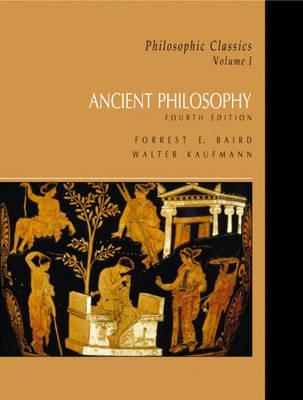 Ancient Philosophy: v. 1