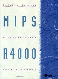 MIPS R4000 User's Manual