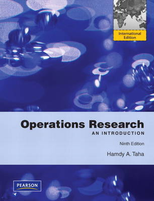 Operations Research: An Introduction: International Edition