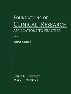 Foundations of Clinical Research: Applications to Practice