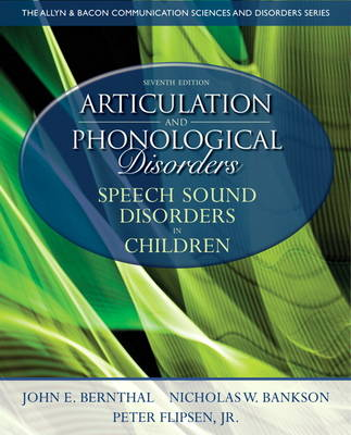 Articulation and Phonological Disorders: Speech Sound Disorders in Children: United States Edition
