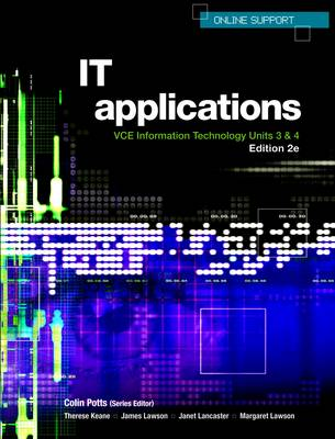 VCE Information Technology Applications Units 3 and 4