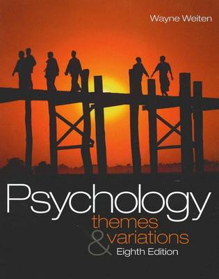 Bundle: Psychology: Themes and Variations (with Concept Charts) +  Printed Access Card + Psyk.Trek 3.0: A Multimedia Introduction to Psychology