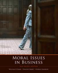 Moral Issues in Business and Global Economic Crisis Supplement