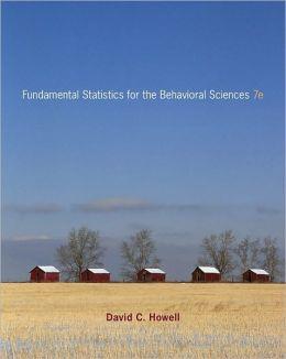 Fundamental Statistics for theBehavioral Sciences