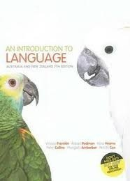 An Introduction to Language / Writing Guidelines for Social Science Students