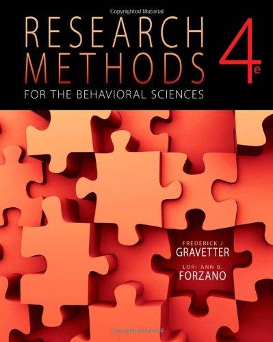 Bundle:Research Methods for the Behavioral Sciences + Aplia Notification Card