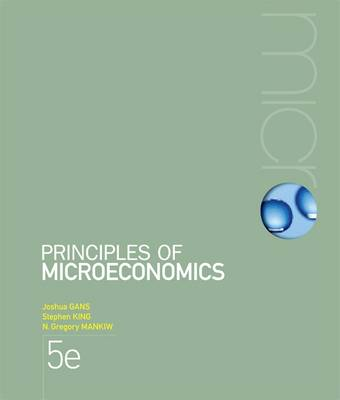 Bundle: Microeconomics - Case Studies and Applications + Principles of Microeconomics with Student Resource Access 6 Months + Aplia Notification Card