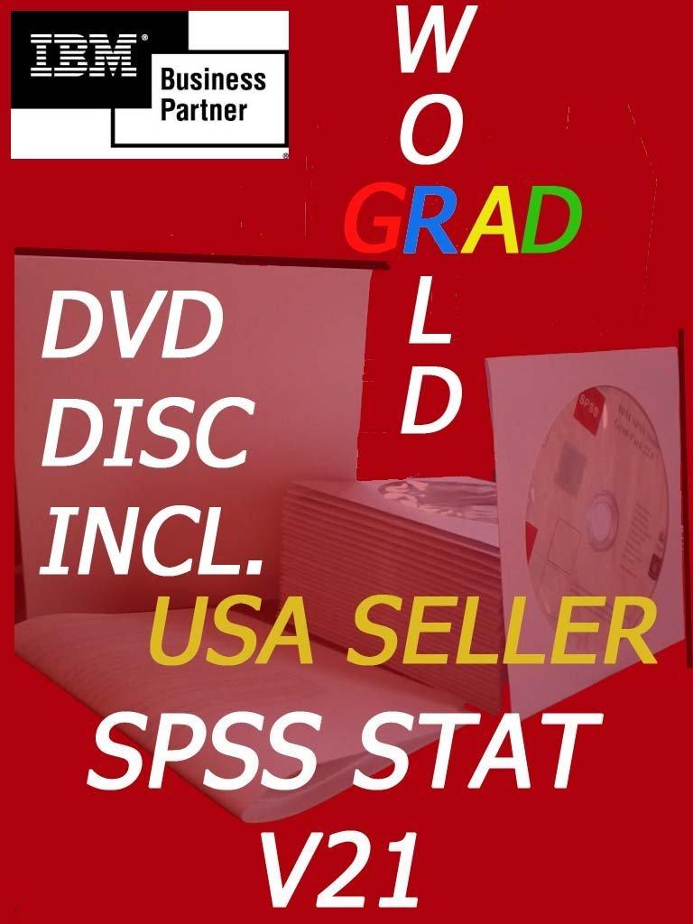IBM SPSS Statistics Grad Pack BASE Version 21