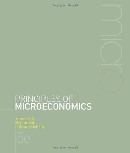 Principles of Microeconomics + Aplia Notification Card