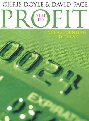 Profit: VCE Accounting Units 1 and 2