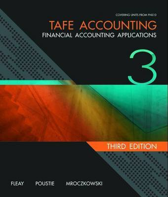 TAFE Accounting: Financial Accounting Applications