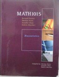 Biostatistics MATH1015 2nd Edition