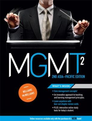 MGMT2 : Asia Pacific Edition with Student Resource Access 12 Months