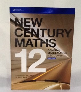New Century Maths 12 General Student Book Plus Access Card for 4 Years