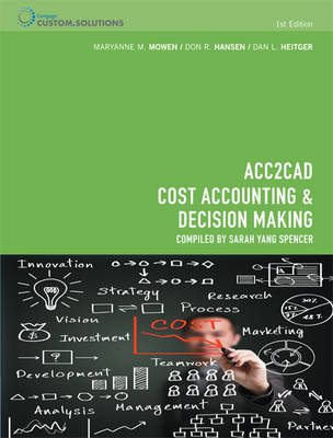 CP0937 - ACC2CAD Cost Accounting and Decision Making