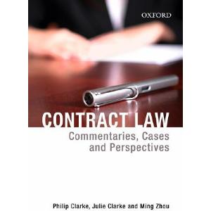 Contract Law (3e) + Contract Law : Commentaries Cases & Perspectives