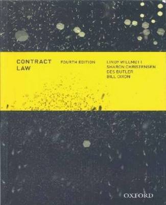 Contract Law (4e) + Contract Law : Commentaries Cases & Perspectives 2e (Value Pack)