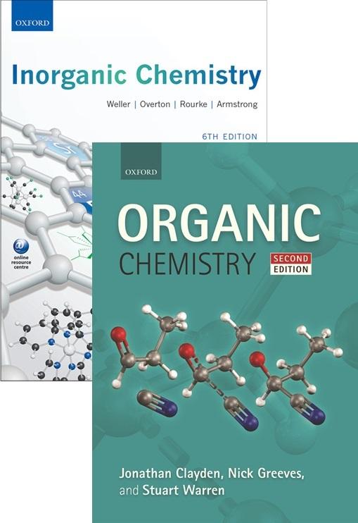 Organic Chemistry 2e + Inorganic Chemistry 6e