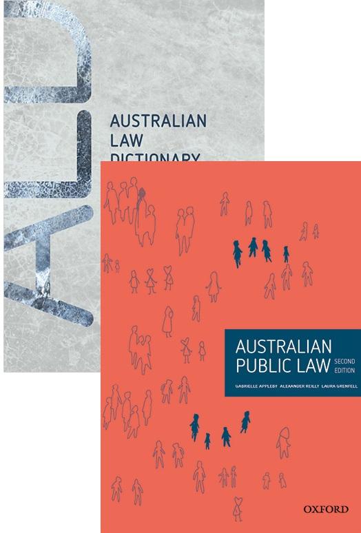 Australian Public Law 2e & Australian Law Dictionary 2e