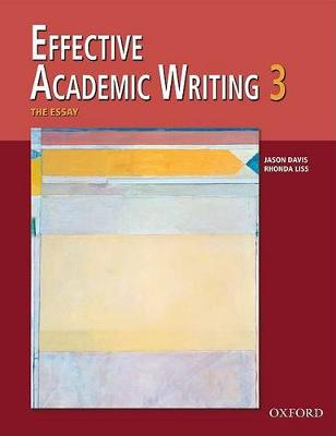 Effective Academic Writing: 3: The Essay
