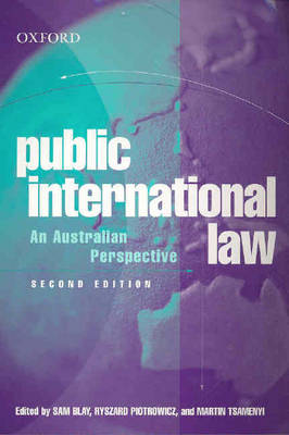 Public International Law: An Australian Perspective