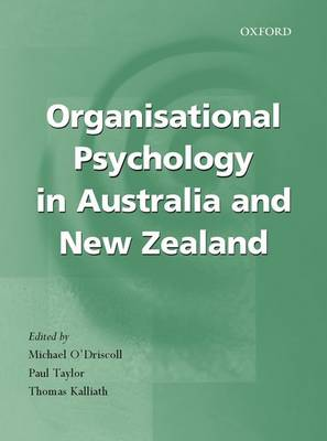Organisational Psychology in New Zealand and Australia