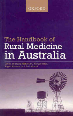 Handbook Of Rural Medicine In Australia