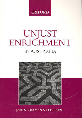 Unjust Enrichment in Australia