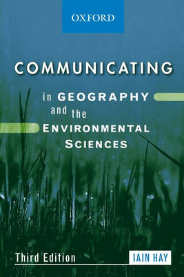 Communicating in Geography and Environmental Sciences