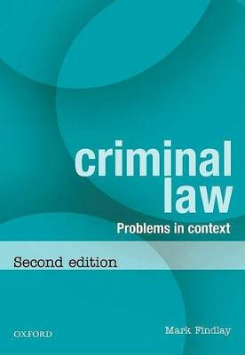 Problems for Criminal Law