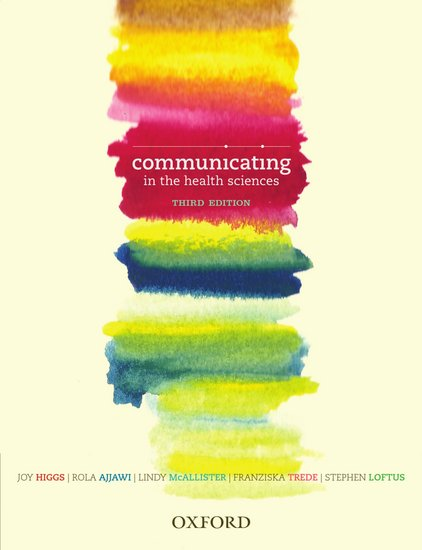 Communicating in the Health Sciences 3rd Edition (VitalSource eBook)