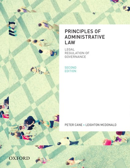 Principles of Administrative Law 2nd Edition (VitalSource eBook)