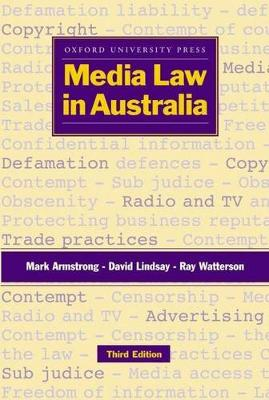 Media Law in Australia: A Manual