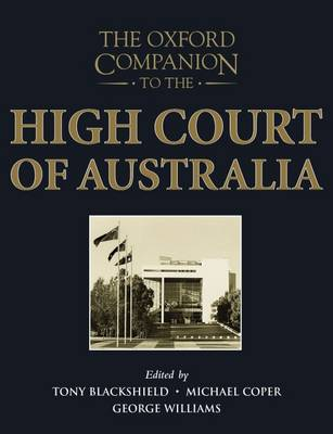 The Oxford Companion to the High Court of Australia