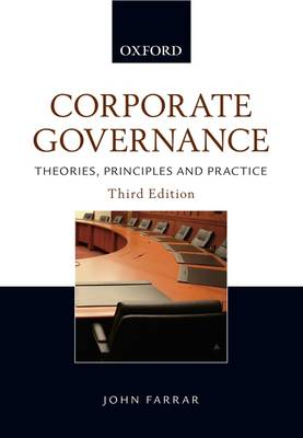 Corporate Governance: Theories, Principles and Practice