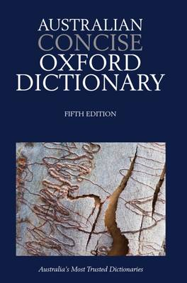 Australian Concise Oxford Dictionary 5e Paperback