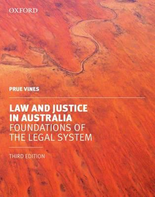 Law and Justice in Australia: Foundations of the Legal System (VitalSource eBook)