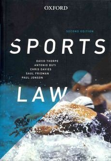 Sports Law (VitalSource eBook)