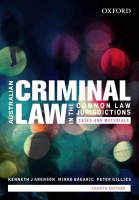 Australian Criminal Law in the Common Law Jurisdictions