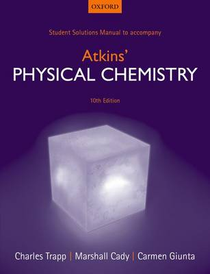 Student Solutions Manual to accompany Atkins' Physical