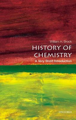 The History of Chemistry: A Very Short Introduction