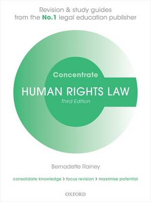 Human Rights Law Concentrate: Law Revision and Study Guide