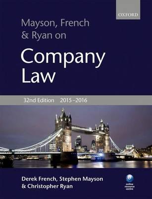 Mayson, French & Ryan on Company Law,  2015-2016