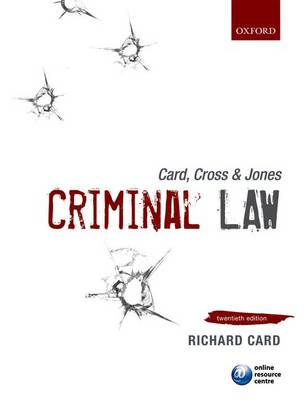 Card, Cross & Jones: Criminal Law