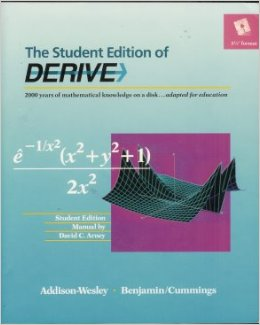 Student Edition Of Derive (book And Software 3.5 Diskette)