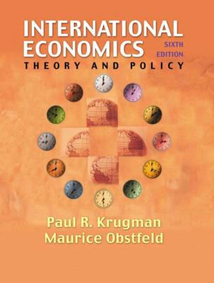 International Economics: Theory and Policy
