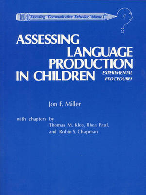 Assessing Language Production in Children