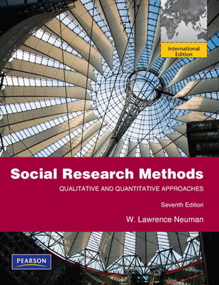 Social Research Methods: Qualitative and Quantitative Approaches